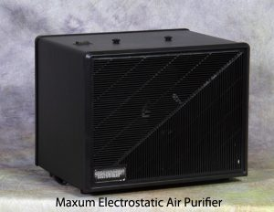 Maxum Electrostatic Home Air Purifier