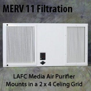 LAFC Media Ceiling Air Purifier