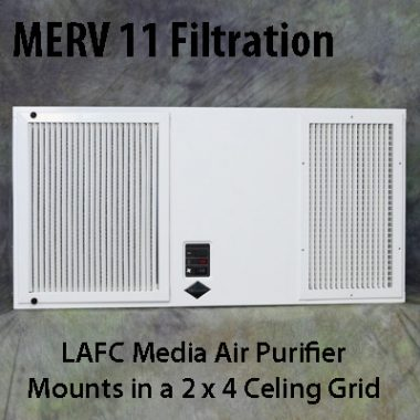 LAFC Media Ceiling Air Purifier