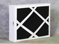 HEPA filter with charcoal pad