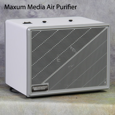 Maxum Media an evidence room air purifier