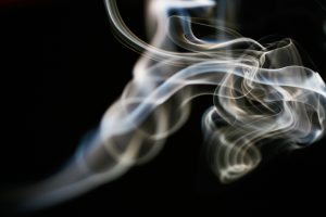 Smoke is a combination of particles, liquids and gasses