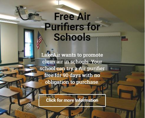 LakeAir Air Purifiers for schools