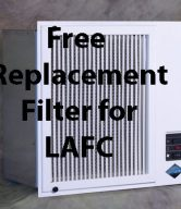 Free Replacement Filter for LAFC