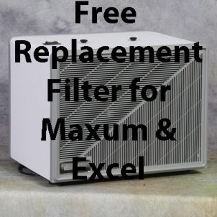 Free Replacement Filter for a Maxum or Excel