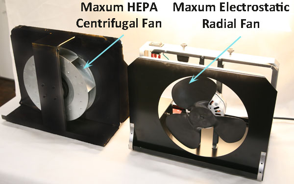 A fan comparison between Centrifugal and radial fans