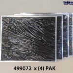 4 Pak of LA2 Standard Carbon Filter